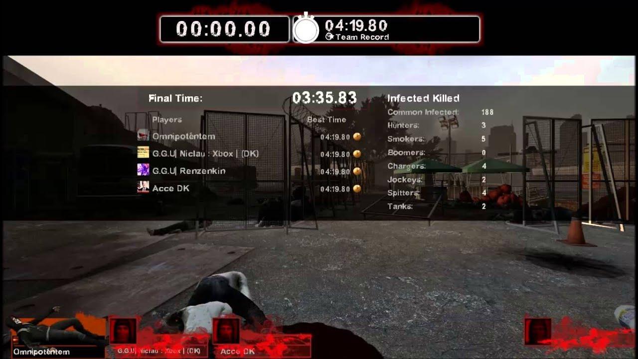 GGU Anarchy: Left 4 Dead 2: Survival Episode 3: Beton sofaer og Asbjørns plan