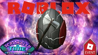 [EVENT] HOW TO GET THE THOR EGG IN ROBLOX!