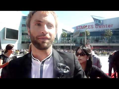 Paul McDonald OK! Red Carpet Interview At American Idol Finale