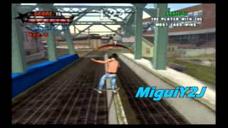 Tony Hawk`s Underground PS2 Online - Graffiti Gameplay