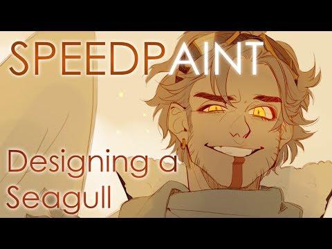 [SPEEDPAINT] Hal - Character Design
