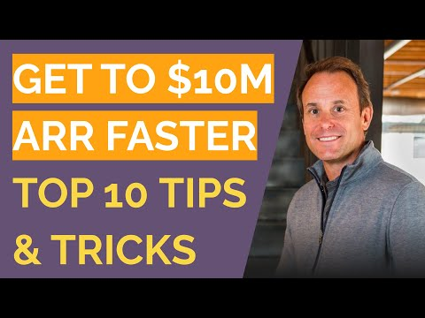 Jason Lemkin, SaaStr - The Top 10 Things You Can Do To Get To $10M ARR Faster