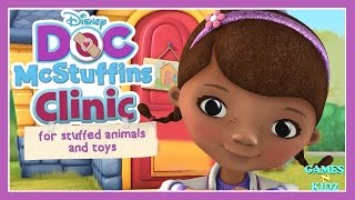 Doc McStuffins Clinic For Stuffed Animals & Toys - Disney Junior Game For Kids