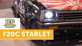 650HP On Stock Internals | Honda Swapped KP61 Starlet [TECH TOUR]