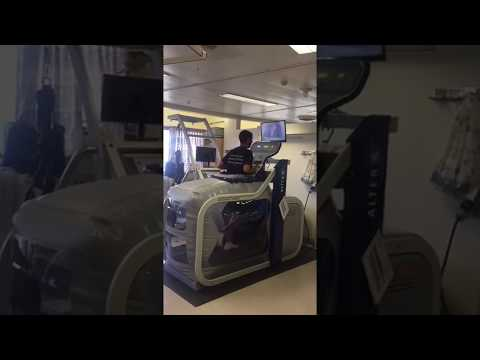 Hadassah's Rehabilitation Anti Gravity Treadmill