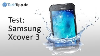 samsung Galaxy Xcover 3  Test deutsch