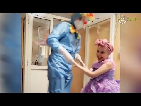 Un video emozionale nel reparto U.O.C. Malattie Infettive Pediatriche HUB Regionale Covid