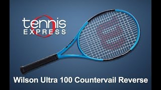 Wilson Ultra 100 CV Reverse Tennis Racquet Review | Tennis Express