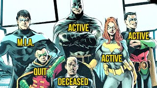 What Happened To Everyone Who Joined The Batman Family?