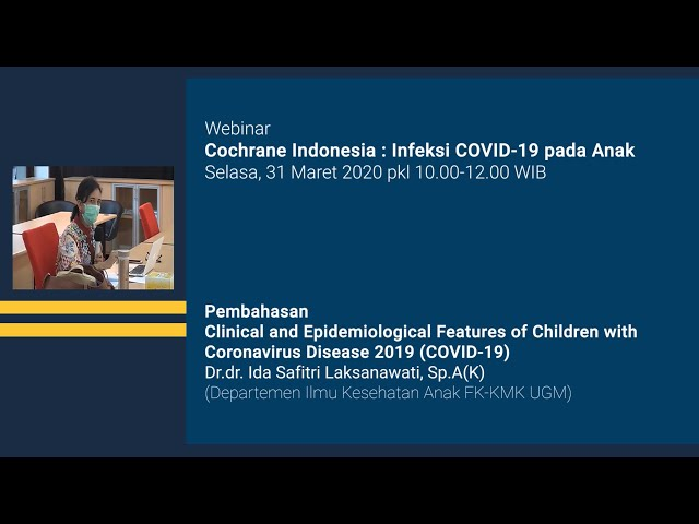Pembahasan Clinical and Epidemiological Features of Children with Coronavirus Disease 2019 COVID 19