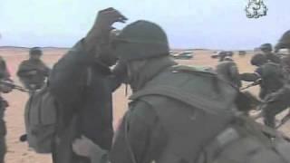 Algerie - securiser la frontiere et d'assurer les deplacees