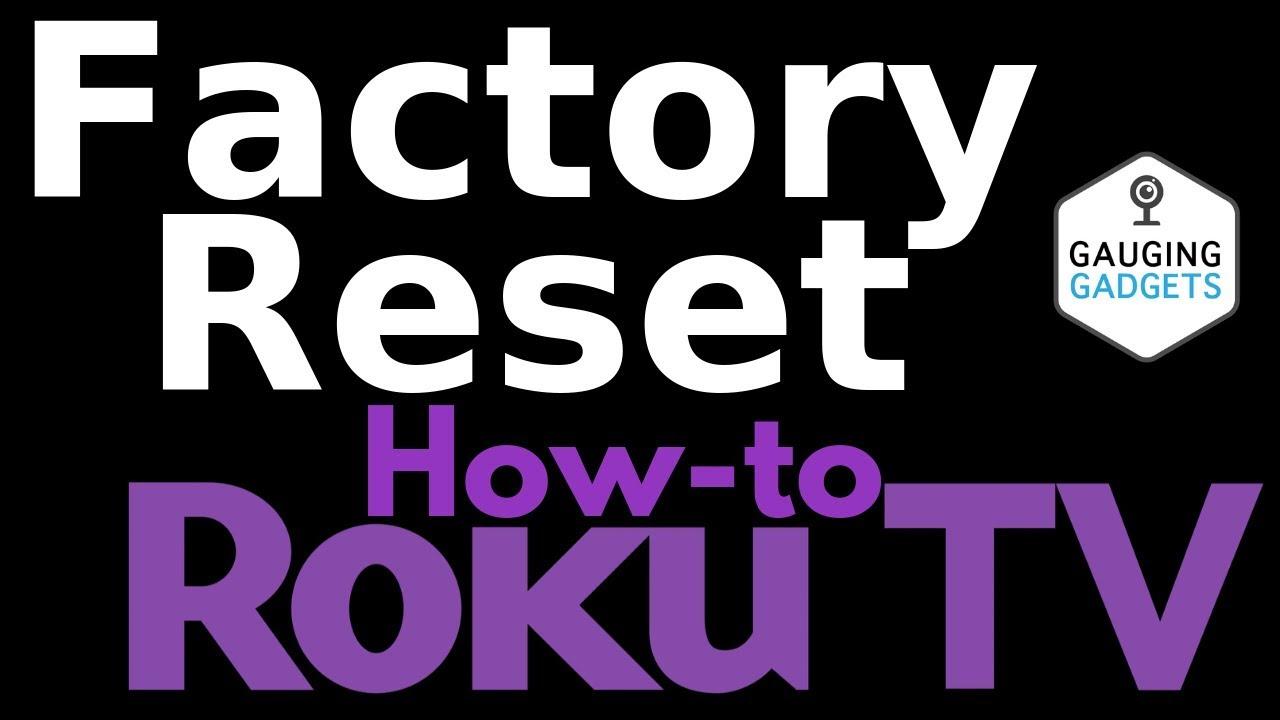 How to Factory Reset a TCL Roku TV - TCL Roku Tutorial
