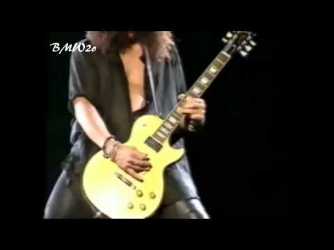Slash Solo & Godfather Theme Live @ Paris HD