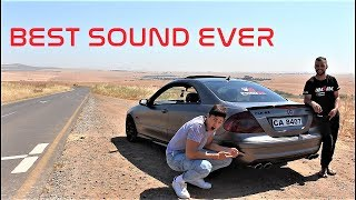 Mercedes Benz CLK63 AMG! Monsters are scary!   LibeRebil Vlogs