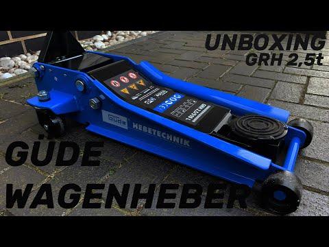 Güde Rangierwagenheber | 2,5t/510 | Unboxing & Test | [GER] | tooCar Detailing