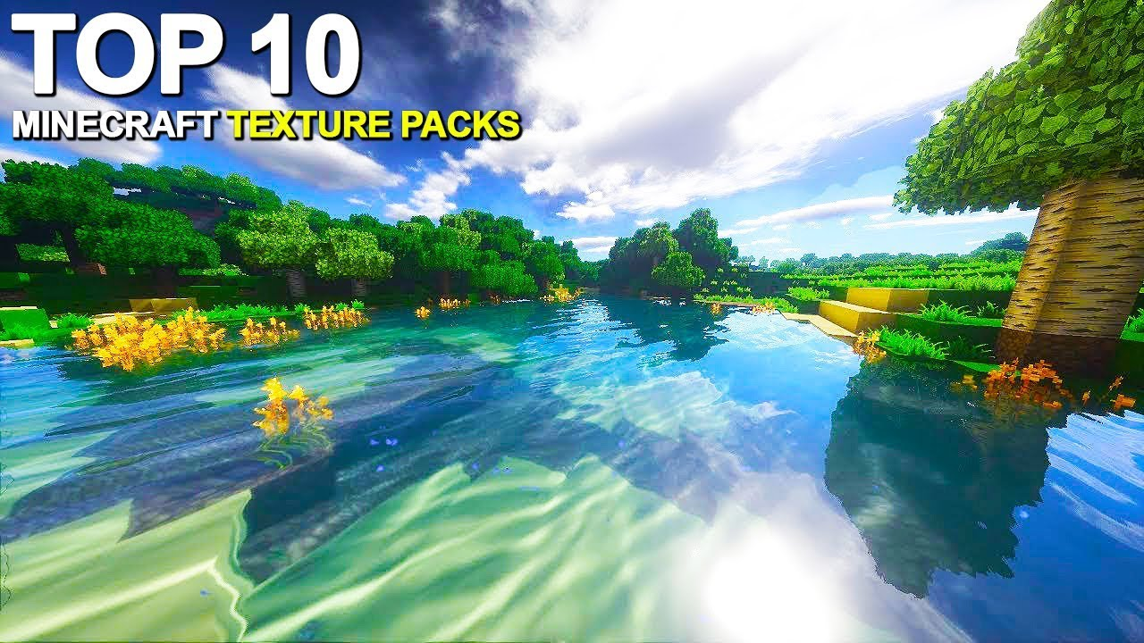 Top 10 Minecraft Texture Packs for 2019 - YouTube