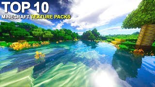 Top 10 Minecraft Texture Packs for 2019