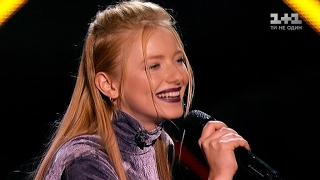"Ingret Kostenko ""Ptashechka"" - blind Audition - The Voice of Ukraine - season 7"