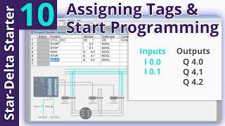 Star-Delta Starter PLC Program and Wiring _ Part 10