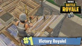 CLUTCH DEZE GAME ALSJEBLIEFT! - Fortnite: Battle Royale Sniper Shootout (#72)