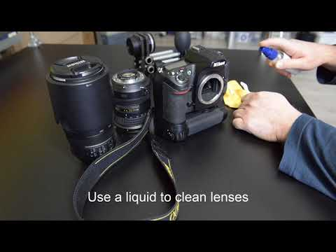How to clean your DSLR mirror