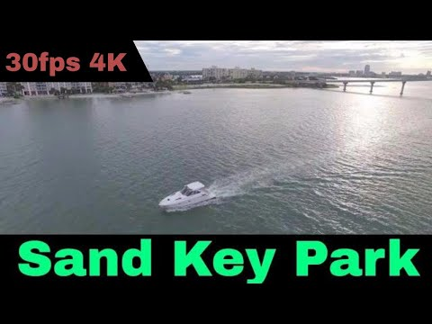 Sand Key beach  Park in Clearwater Florida