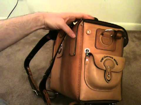 Moose Leather Shop EXPEDITION BAG / duffel / travel -- saddleback leather review / unboxing