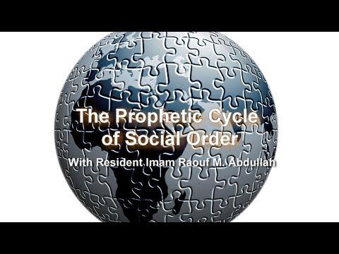 The Prophetic Renewal of Social Order