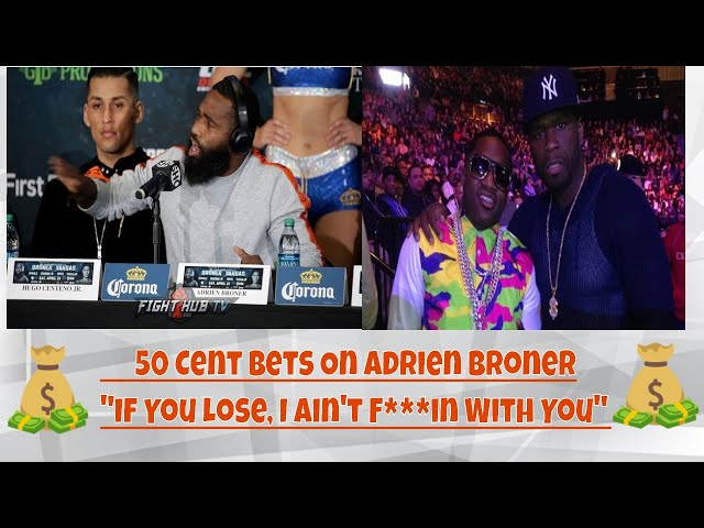50 Cent Got His Money On Adrien Broner;