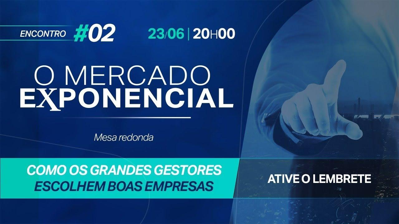 Rodrigo Glatt participa do Mercado Exponencial com Marco Saravalle