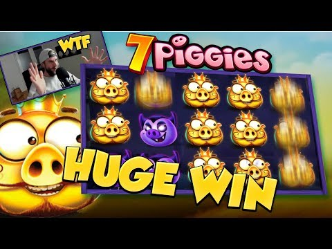 BIG WIN!!! 7 piggies BIG WIN - Casino Games - free spins (gambling)