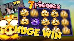 BIG WIN!!! 7 piggies BIG WIN - Casino Games - free spins (gambling)