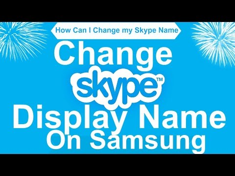 How to change skype name in ios