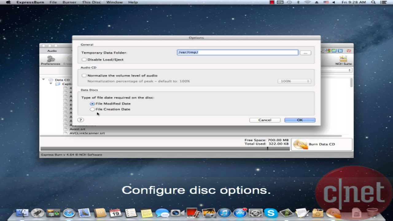 How to burn video to disk What program to record video 47