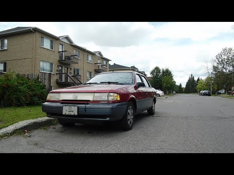 Beautiful Mercury Topaz 1992-1994 + Car Spotting Longueuil QC