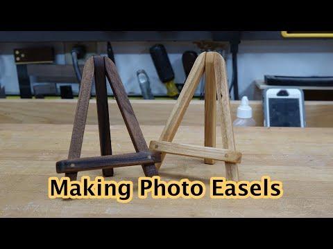 Making Mini Photo Easels