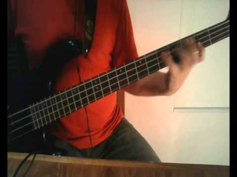 Anybody Seen My Baby by The Rolling Stones Bass Cover by Cristian Balsamello