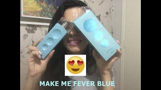 Resenha Make me fever blue mahogany, comprei no escuro...