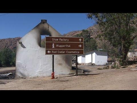 Historiese dorpie in puin
