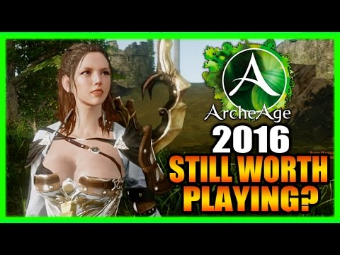 Still Worth Playing? Archeage 2016 Gameplay Review and Impressions Part 1
