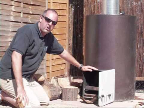Wood burning swimming pool heater demo youtube - How to build a swimming pool heater ...