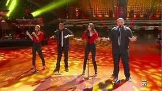 American Idol - Rockin Robin - David Leathers Jr, Jeremy Rosado, Ariel Sprague, Gabi Carrubba
