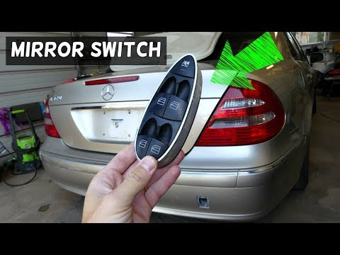 Mercedes W211 Master Window Switch Front Youtube