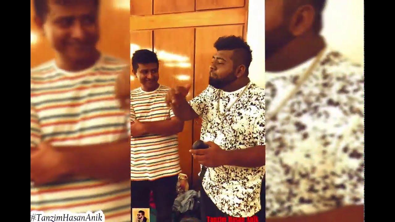 Freestyle Rap With Shamim Hasan Sarkar   Tanzim Hasan Anik   Mango Squad    Bangla Rap 2020