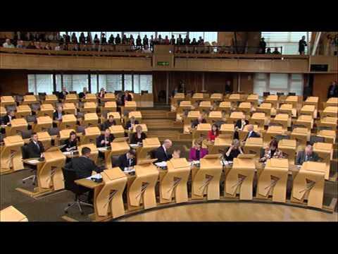 General Questions - Scottish Parliament: 5th November 2015
