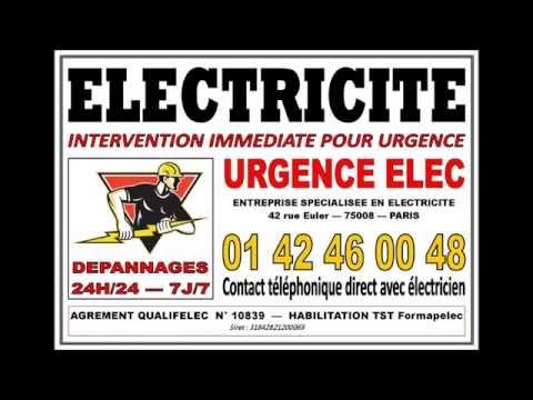 ELECTRICITE -  ELECTRICIEN AVENUE HOCHE - 75008 - PARIS 8 - 0142460048