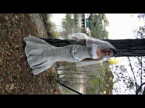 Copy of Organic linen wedding dress,custom made from Milutsa, Orinda California