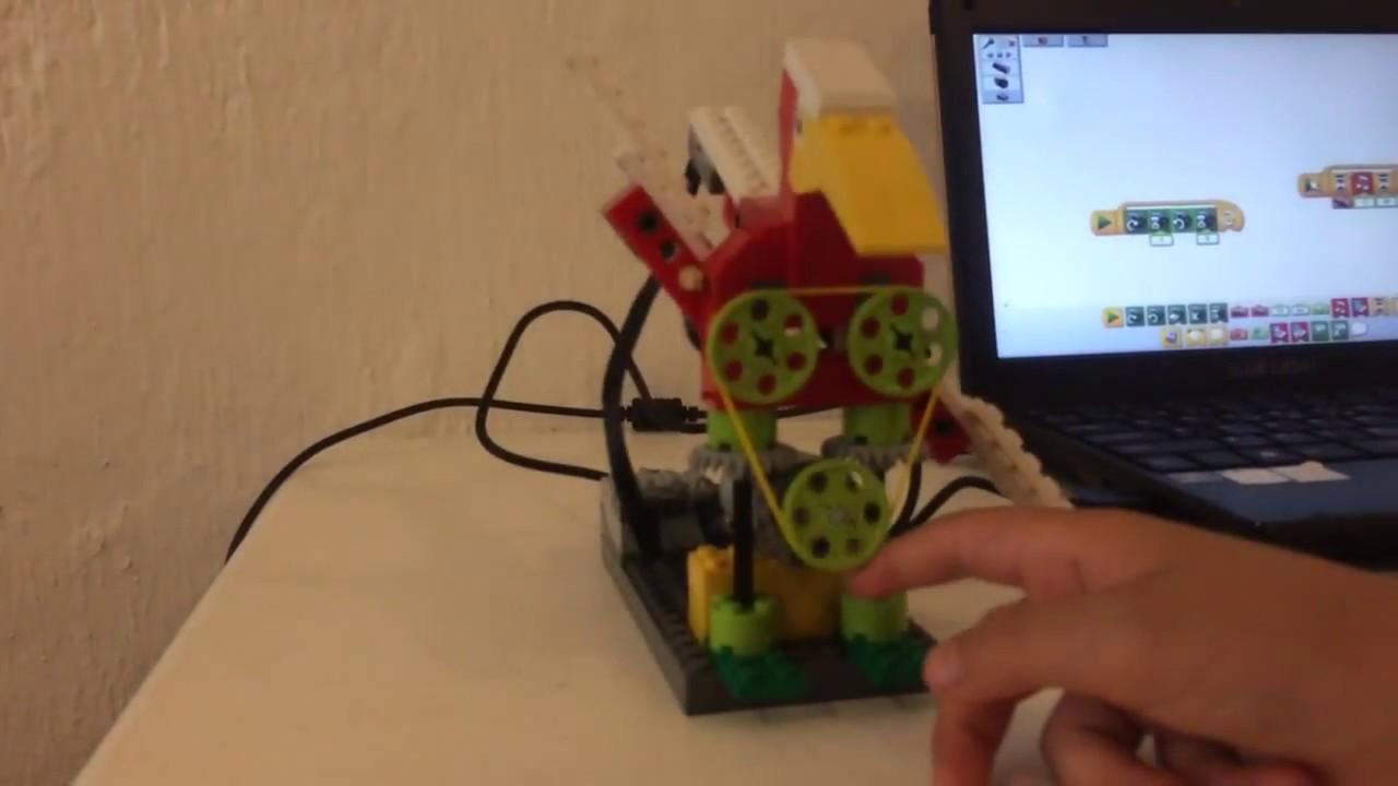 Máquinas simples con LEGO para niños pequeños
