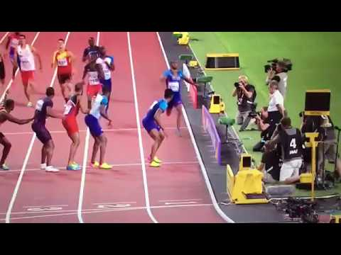 Trinidad and Tobago wins 4x400m Relay Men Final IAAF World Champs London 2017