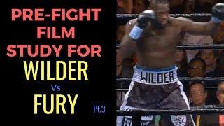 Deontay Wilder vs Tyson Fury Pre Fight Film Study on the Bronze Bomber